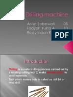 presentation about Drilling Machine