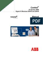 3BDD010423 CIO S900 Manual Digital Modules-DO910-DX910