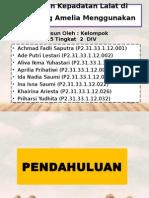 TUGAS 3 LAPORAN PERHITUNGAN KEPADATAN LALAT di TPS WARTEG AMELIA MENGGUNAKAN FLY TRAP.pptx
