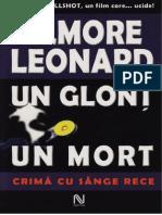 Elmore Leonard - Un Glonţ, Un Mort [v.1.0]