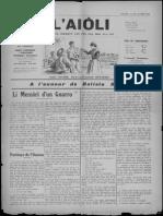 L'Aiòli. - n°338 (Juliet 1931)