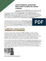 Pietro Lucchese Gruppo Rem e Cortina Magazine Partnership Strategica