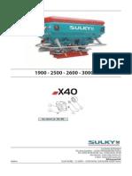 Sulky- X40