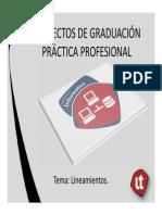 Presentacion Graduandos II-2014