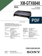 Xm Gtx6040 Sony Schematics