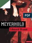 Braun Edward Meyerhold a Revolution in Theatre