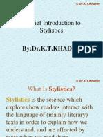 Introduction to Stylistics