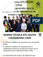 Requisitos de La Norma NTC ISO IEC 17025
