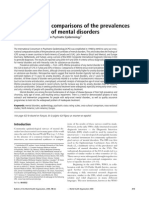 Cross-national comparisons of the prevalences and correlates of mental disorders