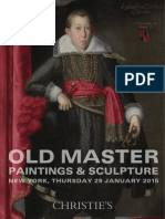 Old Master Paintings & Sculpture