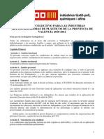 CONVENIO 2010-2012 - Industrias Transformadoras Plastico Valencia