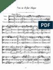 Schubert - String Trio (Violin, Viola & Cello) No2 D581 - Score