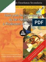 Guia Par La Preparacion de Oposiciones de Secundaria Editorial Mad Gui0001