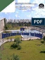 Brochure USTHB 2011