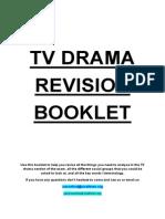 TV Drama Terminology