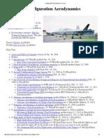 Configuration Aerodynamics Course Web Page