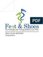 Manual de Identidad Corporativa Feet & Shoes