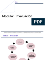 MODULO III - Evaluación de Proyectos
