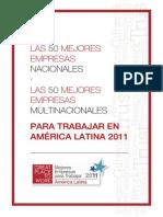 Las Mejores Empresas Para Trabajar 2011