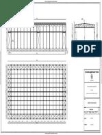 Working Plan Steel Frame Industrial Building