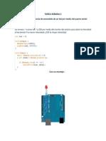 PWM en arduino