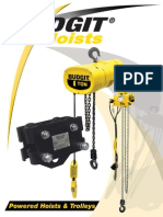 Budgit Hoist Trolley Catalog