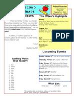 February 13 Newsletter