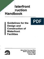 Manual de construcción de muelles