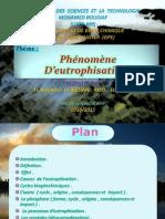 Phénnoméne d'Eutrophisation (Office 2003)