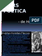 Ars Poetica Horatiu