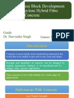 Flexural Stress Block Development for Polypropylene Hybrid Fibre Reinforced Concrete