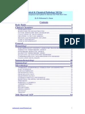 هام -Clinical & Chemical Pathology MCQs | Lipoprotein | Elisa