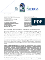 Estuaries Letter to Chairman Shelby, Chairman Rogers, Ranking Member Mikulski, and Ranking Member Lowey from ANEP, NERRA, & RAE