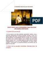 Cinco Pasos Que Se Requieren Conf_eucaristia