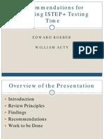 ISTEP Presentation