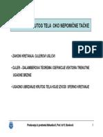 4_Mehanika 2 - Obrtanje Krutog Tela Oko Nepomicne Tacke