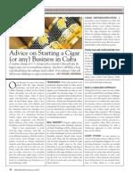 Herrera Smoke Magazine Article