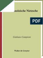 Campioni, Giuliano (2009). Der Französische Nietzsche