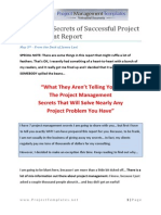 Seven Secrets of Successful Project Management
