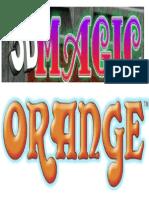 3d Magic Orange