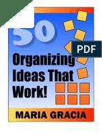 50 Organizing Ideas