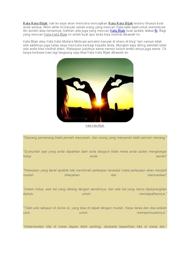22 Kata Mutiara Untuk Diri Sendiri 1000mutiarakata