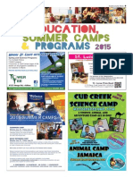 Education, Summer Camps and Programs - 0215SCT