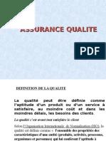 Cours TACQ S1 2014 Assurance Qualite