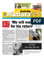 Buletin Mutiara Feb #2 issue, 2015.