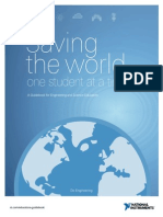 Saving the World One Student at a Time a Guidebook for Engineering and Science Educators