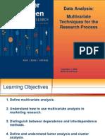 Multivariate Techniques Research Process