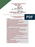 LAMPEA-Doc 2015 – numéro 5 / Vendredi 13 février 2015