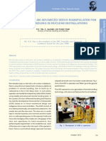 Development of an Advanced Servo Manipulator for Remote Handling in Nuclear Installations