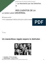 100 Mejores Cuentos de La Literatura Universal _ Área Autónoma